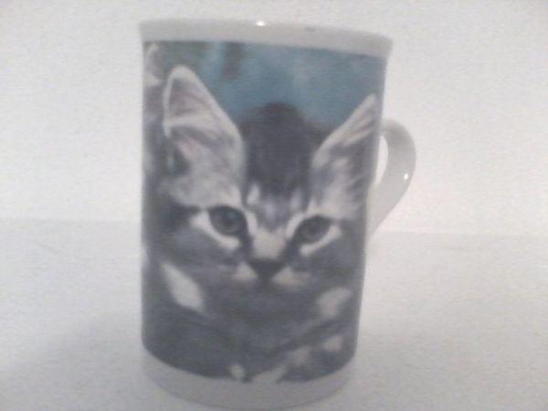 Tasse mit Katzenmotiv - Inhalt ca. 0, 2 l - Adlkofen - Tasse mit Katzenmotiv - Inhalt ca. 0,2 l - Adlkofen