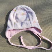 Babymütze weich rosa