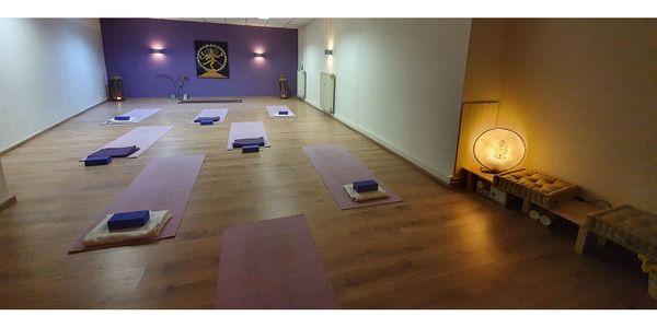 Raum für Yoga Massagen Meditation