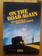 Klaviernoten 20 Country Western-Songs -Songbuch