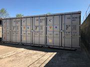 Großer Container mit Licht Strom