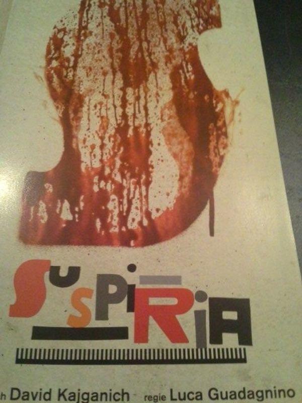 2018 Flyer Suspiria Arthouse Kino