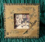 Stand Bilderrahmen dekorativ gearbeitet chinesischer