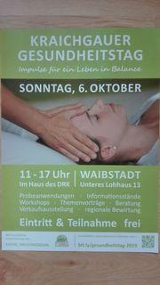 Kraichgauer Gesundheitstag Sonntag 06 Oktober