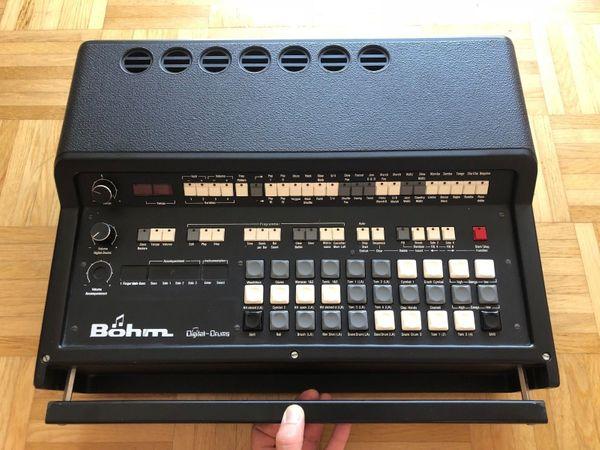 Böhm Digital Drums Drum Machine