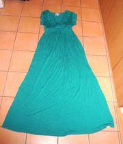 NEUWERTIGES langes grüne Schwangerschaftskleid Kleid