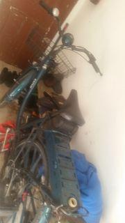 Fahrad mit hilfsmotor