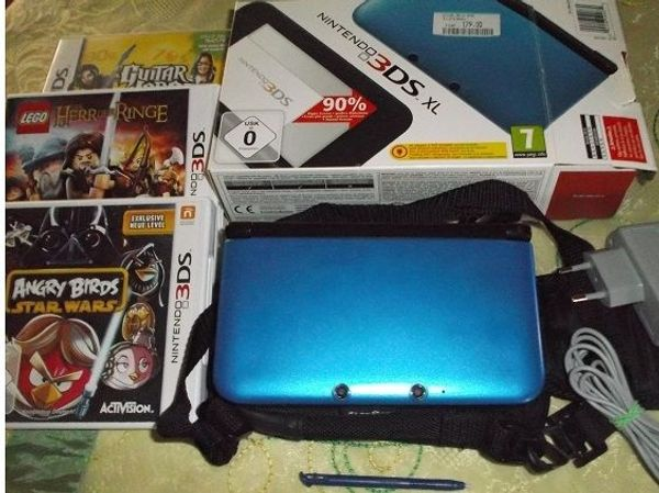 Nintendo 3DS XL Blau metallic