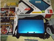 Nintendo 3DS XL Blau metallic