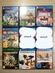 PS4 Playstation 4 Games zu