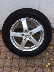 Winterkomplettrad VW Passat Conti Contact