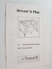 Hauk Reisebett Dream N Play -