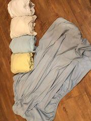 Spannbetttücher Spannbettlaken für Babybett ca