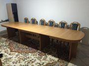 12 Personen Tisch auf verschiedene