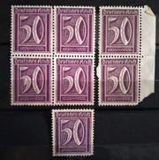 Deutsches Reich 1921 Freimarke 50