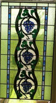 Jugendstil Glasmalerei Bleiverglasung Kirchenfenster Kunsthandwerk