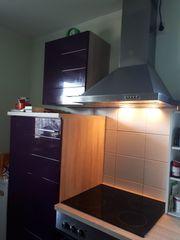 Küchenzeile EMDEN auberginefarben
