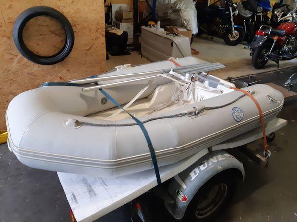 RIB Festrumpfschlauchboot mit Yamaha 4PS