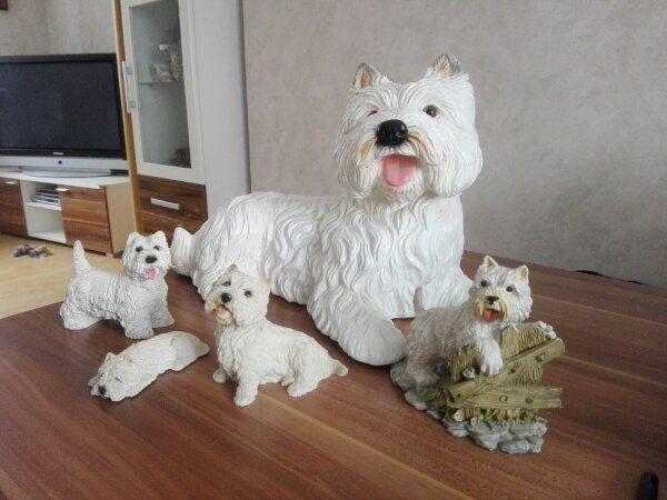 Westhighlandwhite Terrier FIguren