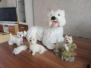 Westhighlandwhite Terrier FIguren Dekoration