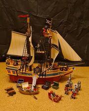 Playmobil Piratenschiff Großes Piraten-Tarnschiff 4290