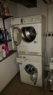 Waschmaschine Bosch und Trockner Miele