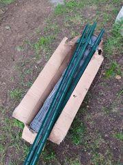 Wildzaun 6 Zaunpfosten Stahl neuMaße