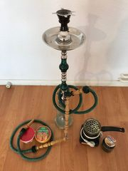 Aladin Shisha Wasserpfeife inkl Zubehör