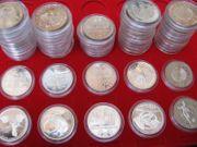30x 10-Euro-Gedenkmünzen aus 2011 auch