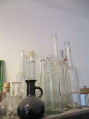 nostalgische Flaschensammlung