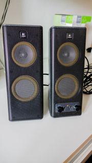 Logitech X-140 2 0 PC-Lautsprechersystem