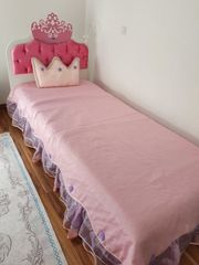 Prinzessin Bett Kinderbett 90x200 cm
