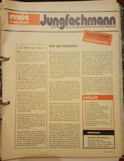Kfz -Jungfachmann-Sonderhefte Alt mot-Autozeitschrift Sammlung