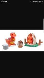 fisher price little people dino