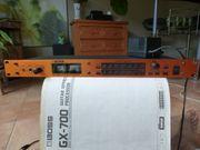 GX-700 Effektgerät und Amp- Speakersimulation