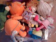 Restposten-Mix Plüsch Stofftiere Puppen