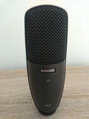 Shure Sm27 Großmembranmikrofon Mikrofonständer