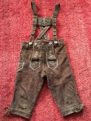 Kinder Lederhose Größe 128