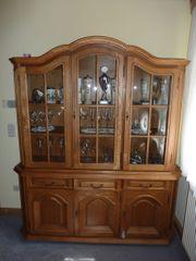 Wohnzimmerschrank bzw -vitrine rustikal