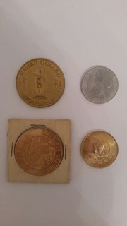 Münzen - 4 Stück