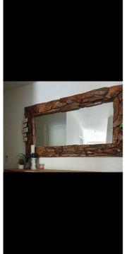 Spiegel aus Teak Holz