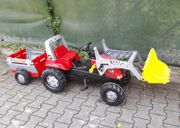 Großer Kinder-Traktor Rolly Toys mit