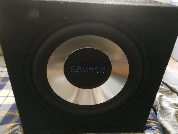Crunch Bassbox Powercap 1 Farad