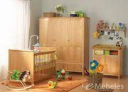 Kinderzimmer Solvita Birke teilmassiv sehr