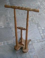 Antiker Stiefelknecht Eiche gedrechselt