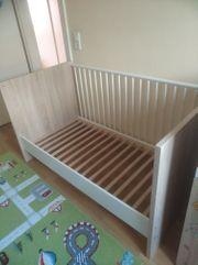 Kombi Gitter- und Juniorbett 140x70cm
