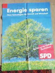 SPD Poster - Energie Sparen
