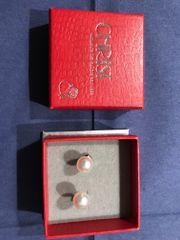 Ohrstecker Perlen 585