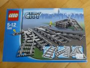 7895 Lego Schienen Weichen