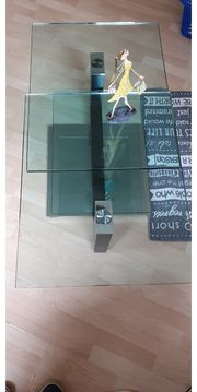 Design Glas - Couch-Tisch Bacher